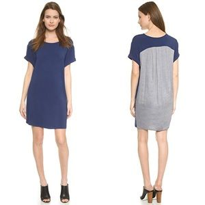 Vince Dark Indigo Chambray Back Dress